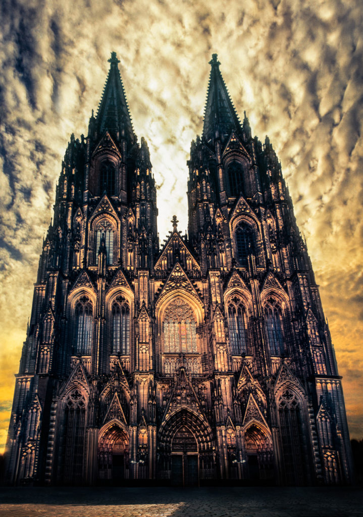 Photograph of Cologne Cathedral, Germany