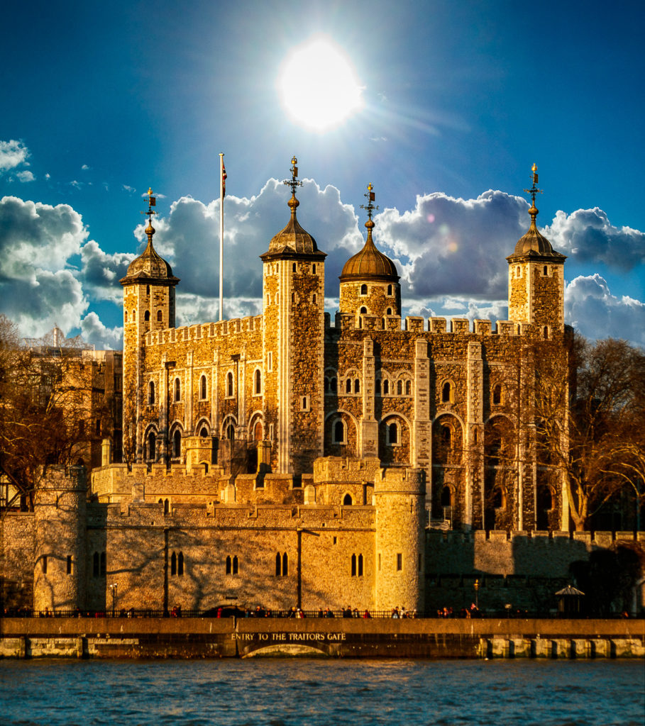Photograph of Tower of London, England